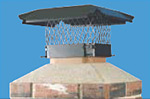 Powder Coated Chimney Cap